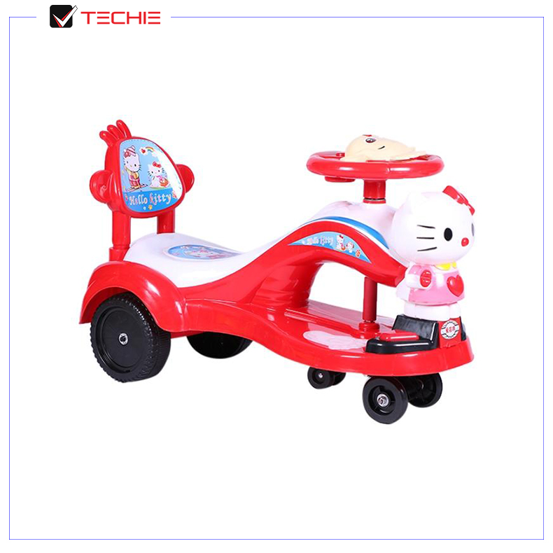 Hello Kitty Swing/Auto Car for Kids