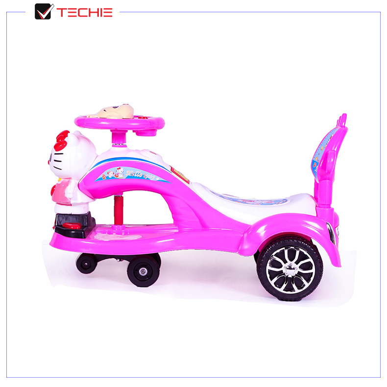 Hello Kitty Swing/Auto Car for Kids Price And Full Specifications 1