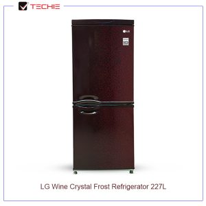 LG Wine Crystal Frost Refrigerator 227L