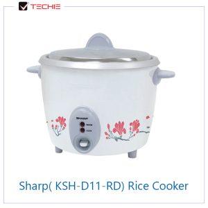 Sharp(-KSH-D11-RD)-Rice-Cooker
