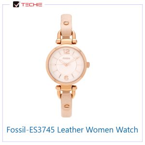 Fossil-ES3745-Leather-Analogue-Women-Watch