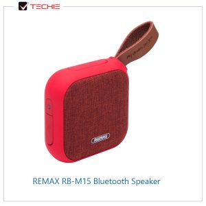 REMAX-RB-M15-Portable-Fabric-Blue-Bluetooth-Speaker-red