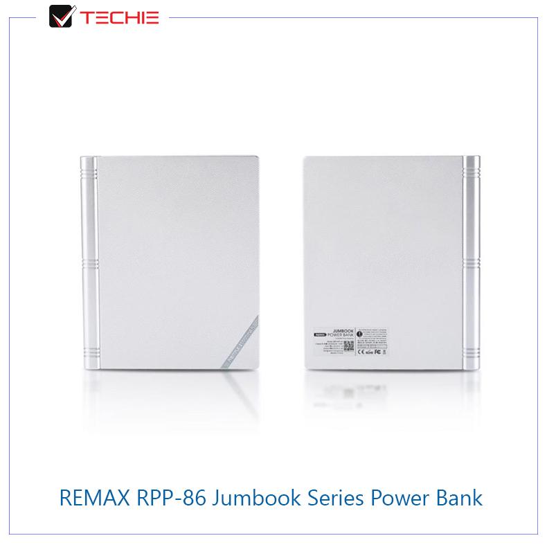 REMAX-RPP-86-20000mAh-Jumbook-Series-Power-Bank-White