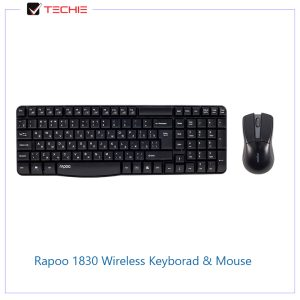 Rapoo-1830-Wireless-Keyborad-&-Mouse