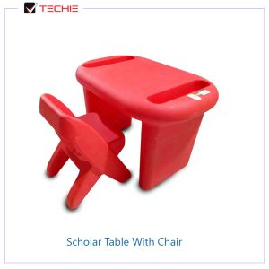 Scholar-Table-With-Chair-red