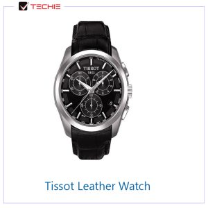 Tissot-Leather-Strap-Chronograph-Watch