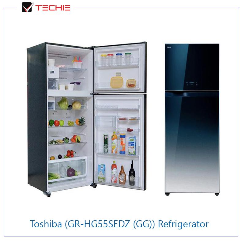 Toshiba-(GR-HG55SEDZ-(GG))-Refrigerator-open