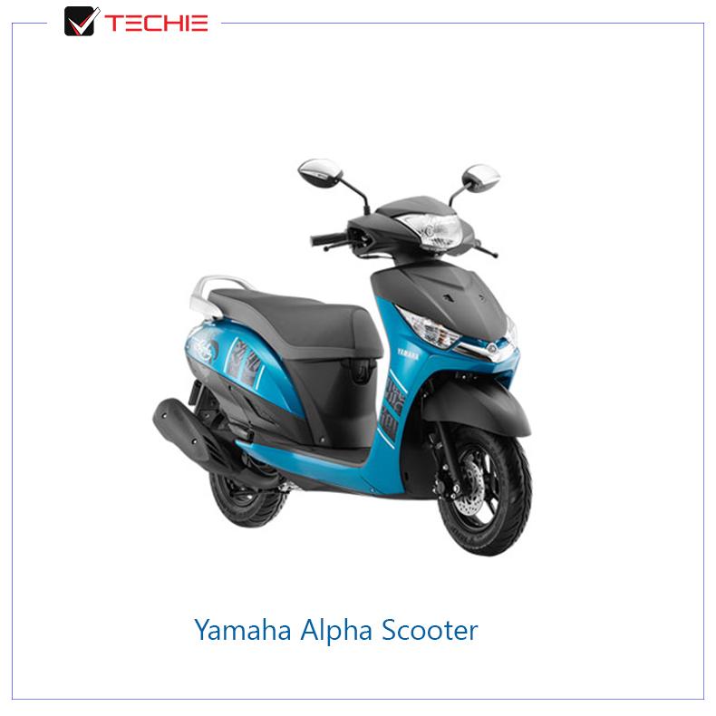 Yamaha-Alpha-Scooter