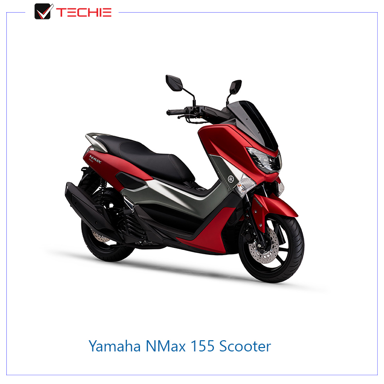 Yamaha-NMax-155-Scooter-red